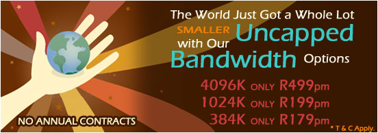 Logix Uncapped Bandwidth Prices